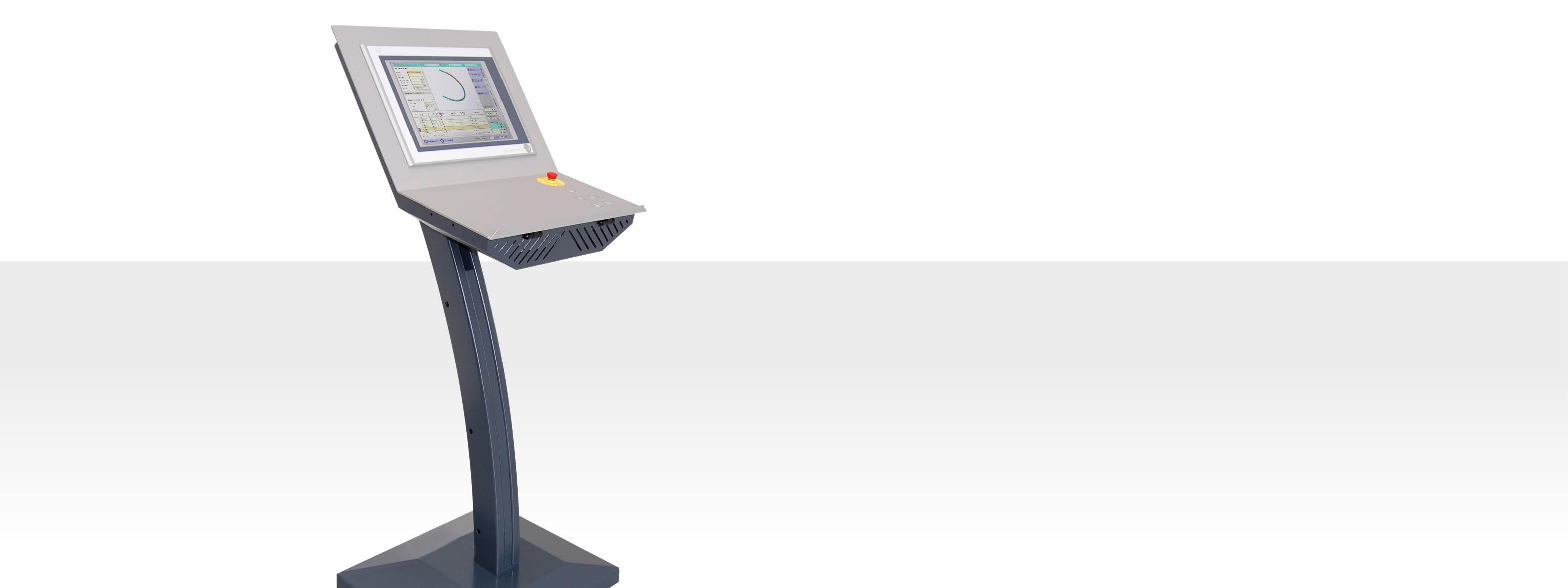 CNC-S Steuerungstechnologie für Rohrbiegemaschinen - Thoman Biegemaschinen