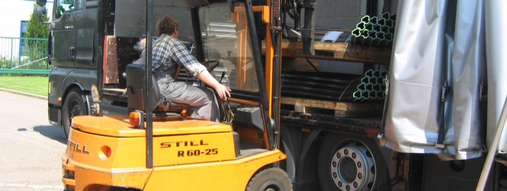 Biegeabteilung für Lohnaufträge oder Musterfertigungen - Thoman Biegemaschinen