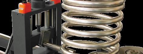 Profilbiegemaschinen - Optionen & Zubehör - Spiralbiegen - Thoman Biegemaschinen