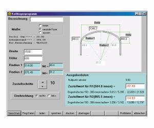 Software para curvado con rodillo_arco de cesta