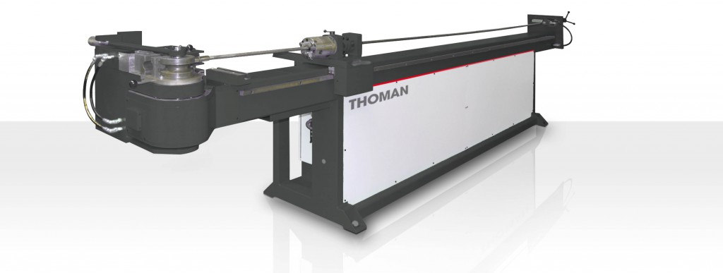 Rohrbiegemaschine - Rohrbiegen - halbautomatische NC Biegemaschine