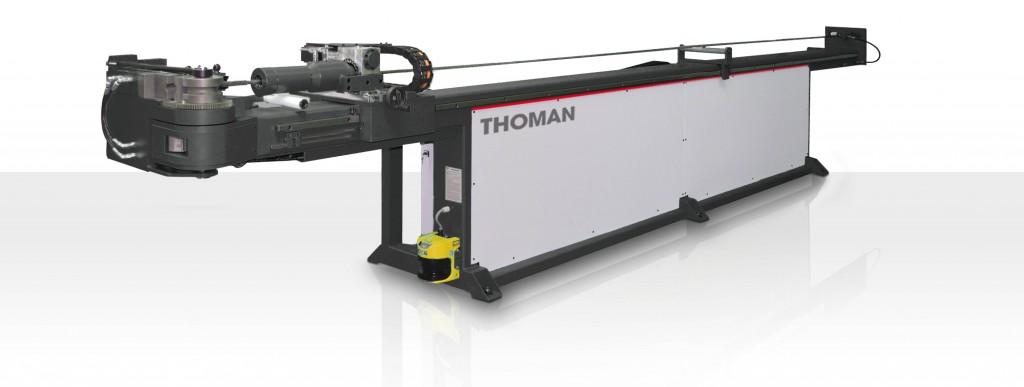 Rohrbiegemaschine - Rohrbiegen mit vollautomatischer CNC Biegemaschine - Thoman Biegemaschinen